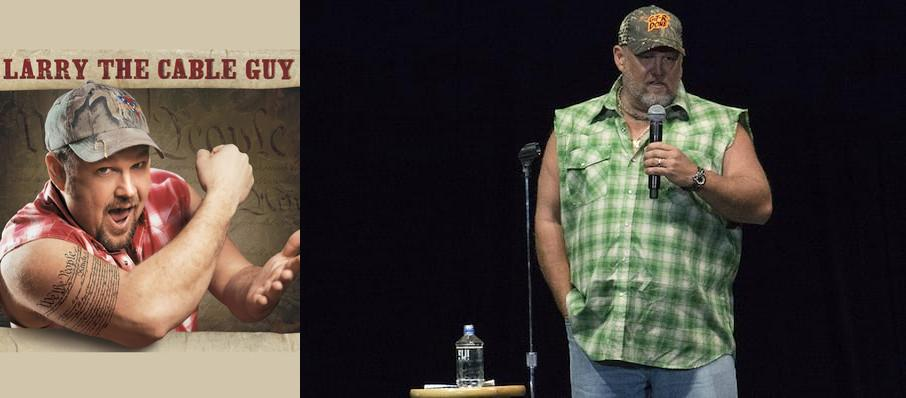 Larry The Cable Guy at Palace Theatre Albany