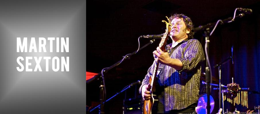 Martin Sexton at Troy Savings Bank Music Hall