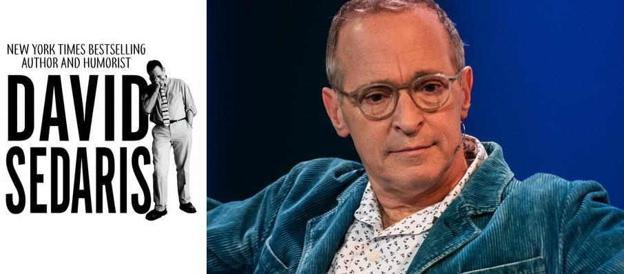 David Sedaris at Hart Theatre