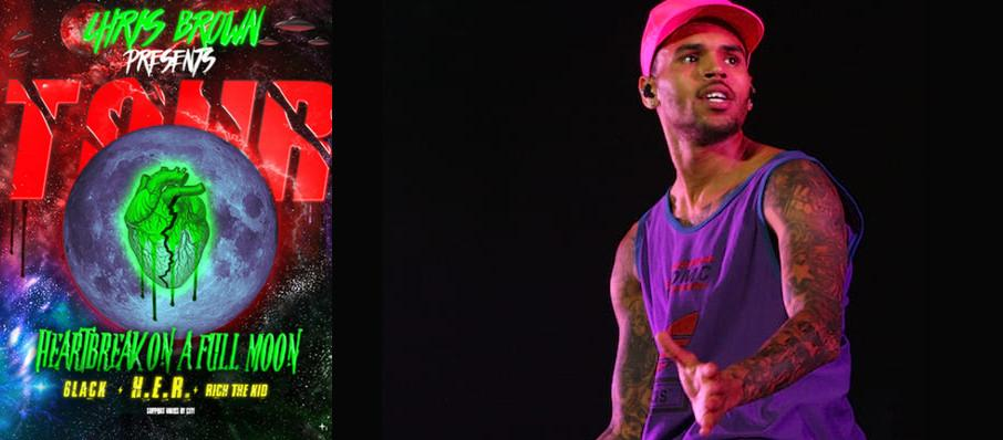 Chris Brown at Times Union Center