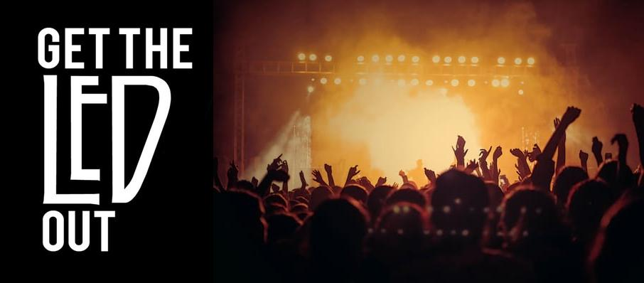 Get The Led Out - Tribute Band at Palace Theatre Albany