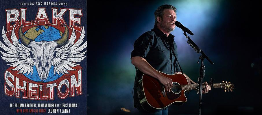 Blake Shelton at Times Union Center