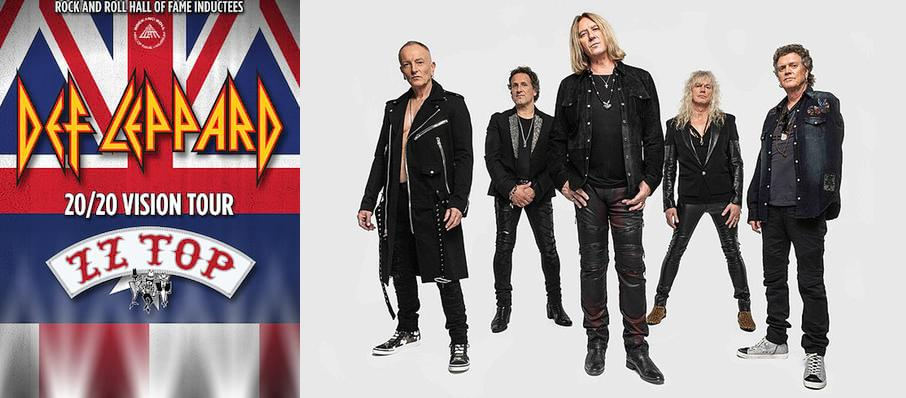 Def Leppard and ZZ Top at Times Union Center