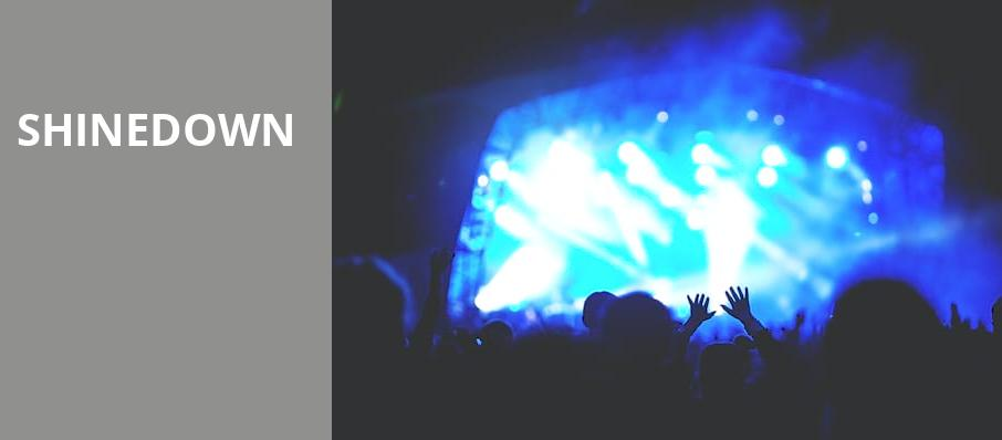 Shinedown, Times Union Center, Albany