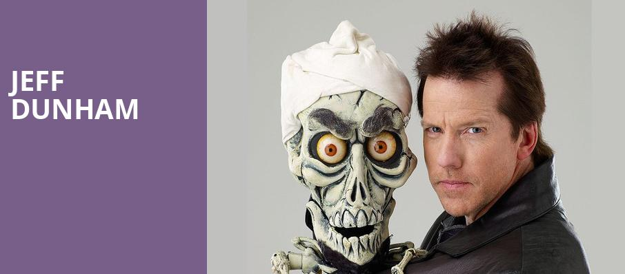 Jeff Dunham, Times Union Center, Albany