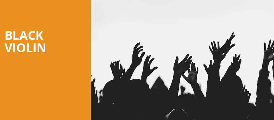 Black Violin, Hart Theatre, Albany