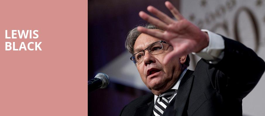 Lewis Black, Troy Savings Bank Music Hall, Albany