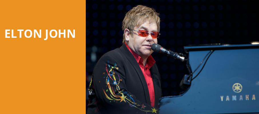 Elton John, Times Union Center, Albany