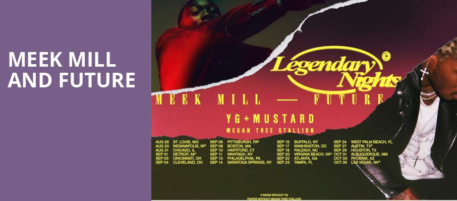 Meek Mill and Future, Saratoga Performing Arts Center, Albany