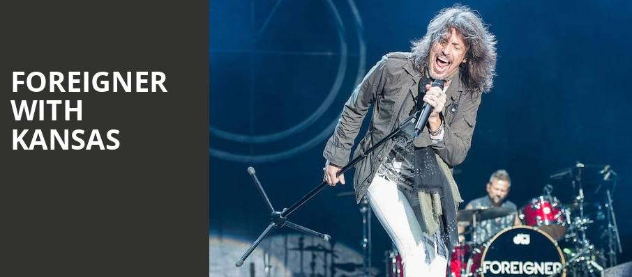 Foreigner with Kansas, Saratoga Performing Arts Center, Albany