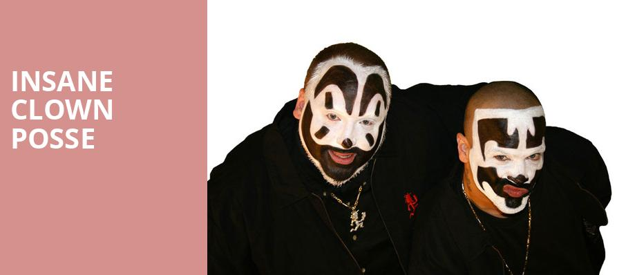 Insane Clown Posse, Upstate Concert Hall, Albany