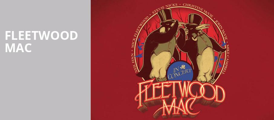 Fleetwood Mac, Times Union Center, Albany