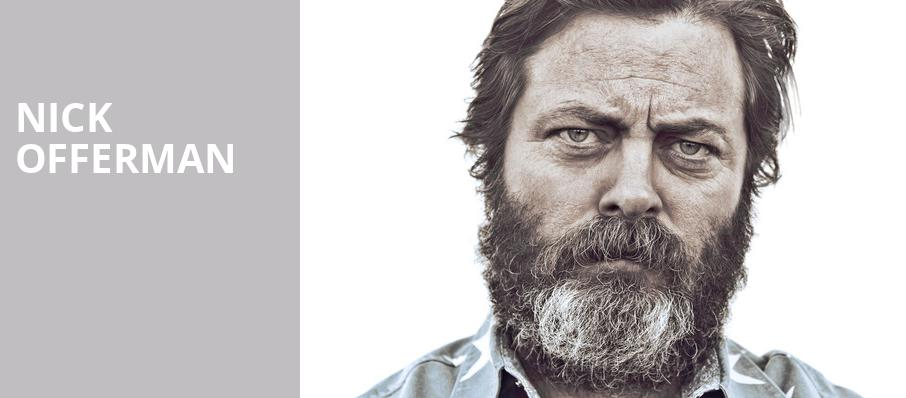 Nick Offerman, Palace Theatre Albany, Albany
