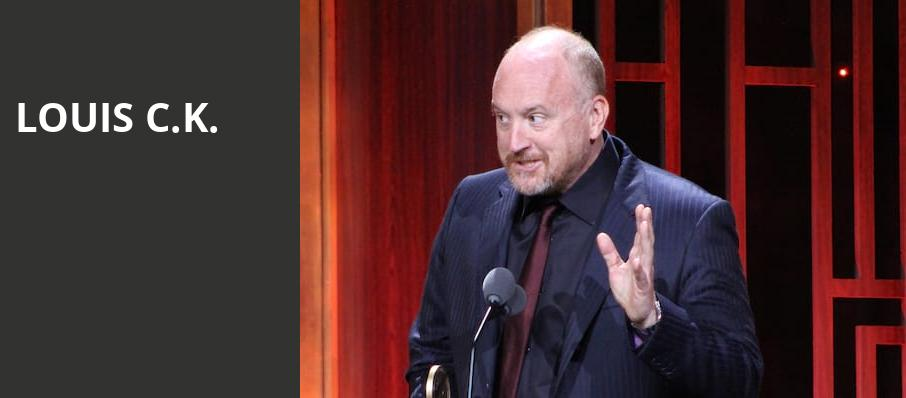 Louis CK, Hart Theatre, Albany
